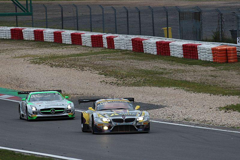 Nedělní program pátého podniku Blancpain Endurance Series na Nurburgringu