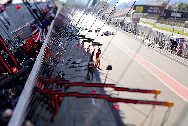 Testy F1 - Barcelona 2018
