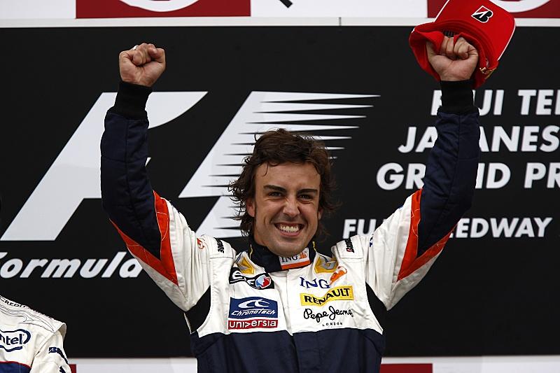 GP Japonska - Renault - Fernando Alonso