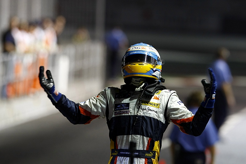 GP Singapur - Renault - Fernando Alonso