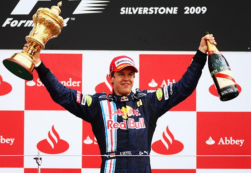 VC Velké Británie - Red Bull - Sebastian Vettel