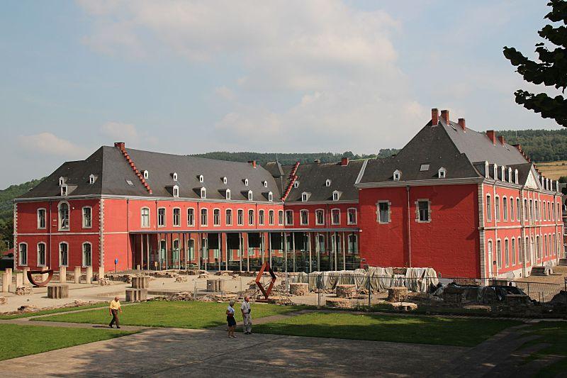 Budova stavelotského opatství