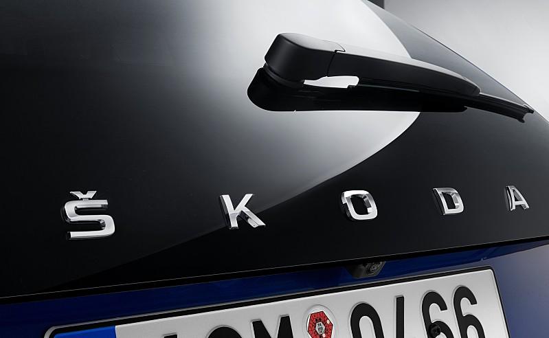 Škoda Scala skica