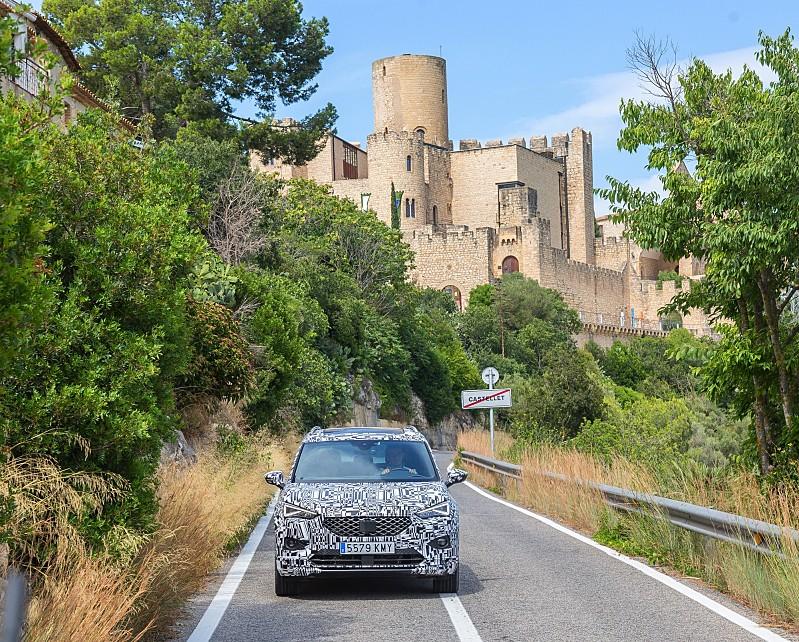 Seat Tarraco off road