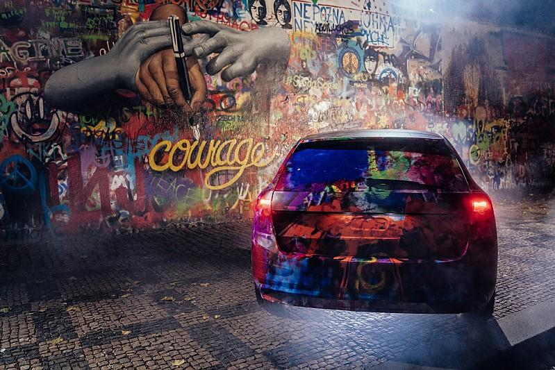 Škoda Scala Lennon Wall