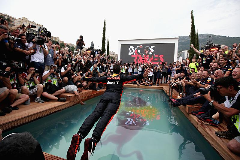 Jak se slaví v Monaku - Daniel Ricciardo