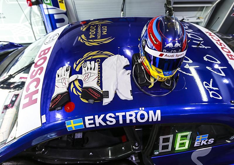 Mattias Ekström, Hockenheim 2018