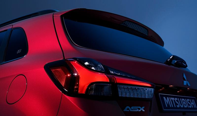 Nové Mitsubishi ASX