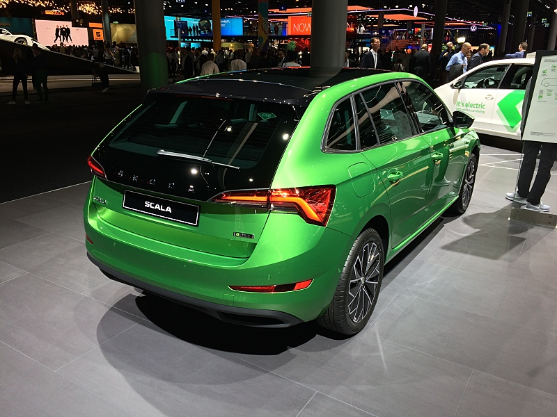 Škoda Scala a Kamiq G-TEC, Frankfurt 2019