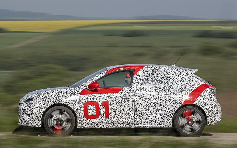 Opel Corsa F Validation