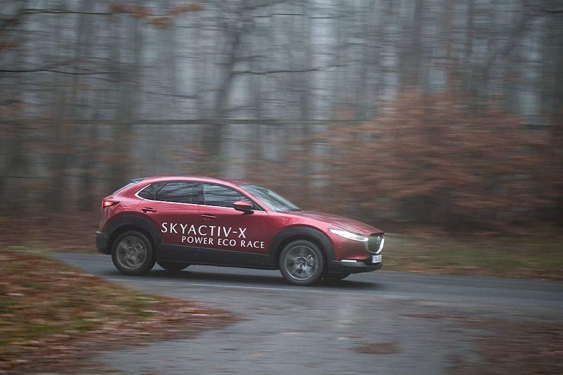 Mazda Skyactiv-X Power Eco Race