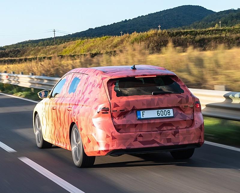 Škoda Octavia Covered Italy