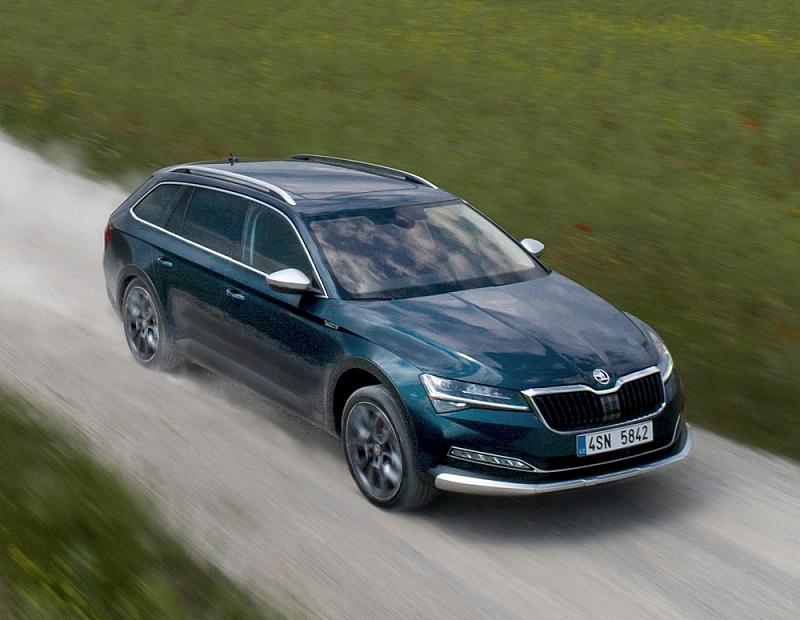 Škoda Superb Facelift