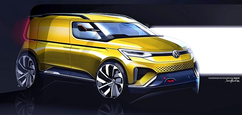 Volkswagen Caddy Design