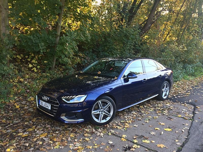 Test vozu Audi A4 35 TDI Limuzína Advanced