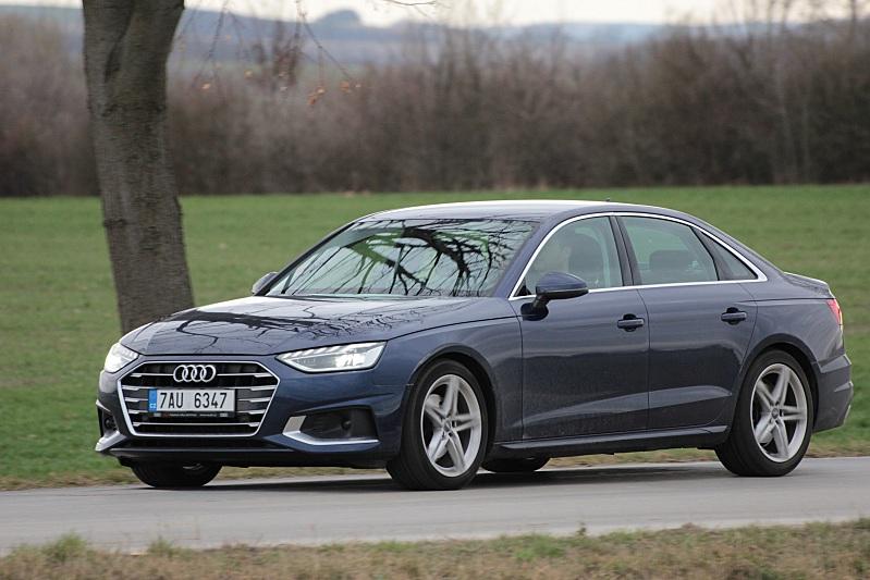 Audi A4 Advenced 35TDI Jízda